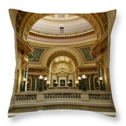 West Gallery  Throw Pillow