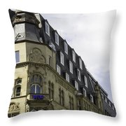 West German Broadcasting Cologne Germany Throw Pillow