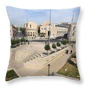 West Jerusalem Throw Pillow