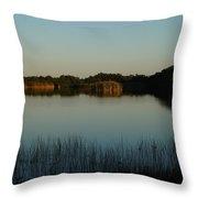 West Lake Throw Pillow
