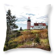 West Quoddy 4041 Throw Pillow
