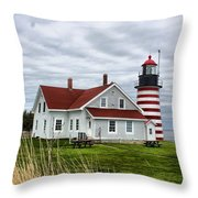 West Quoddy 4214 Throw Pillow