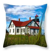 West Quoddy_5421 Throw Pillow