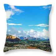 West Sedona Throw Pillow