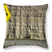 West  Texas  Interstate 10  At  80  Mph - 2 Throw Pillow