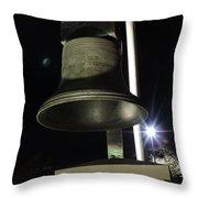 West Virginia Bell Throw Pillow