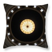 West Virginia State Capital Rotundra Throw Pillow