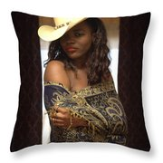 West Was Won  Throw Pillow