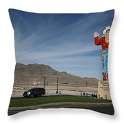 West Wendover Nevada Throw Pillow by Frank Romeo