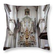 Westerkerk Interior In Amsterdam Throw Pillow