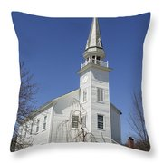 Westerlo Church Throw Pillow
