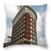 Western Auto Throw Pillow