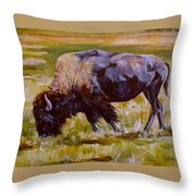 Western Icon Throw Pillow