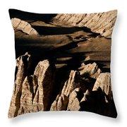 Western Tibet Geology Throw Pillow