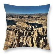Western Tibet Landscape Throw Pillow