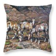 Western Treasures Nursery Rhymes Throw Pillow