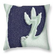 Westernscape Throw Pillow