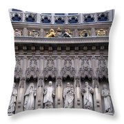 Westminster Abbey 1 Throw Pillow