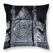 Westminster Abbey North Transept Throw Pillow