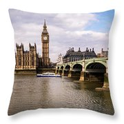 Westminster Pano Color Throw Pillow
