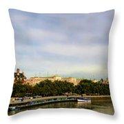 Westminster Panorama Throw Pillow