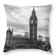 Westminster Panorama Throw Pillow