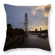 Westminster Sunset Throw Pillow