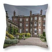Weston Park House Throw Pillow