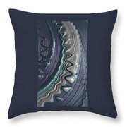Wet Nails 17 Throw Pillow