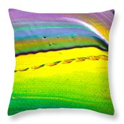Wet Paint 2 Throw Pillow