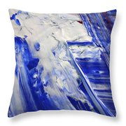 Wet Paint 58 Throw Pillow