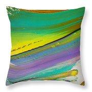 Wet Paint 6 Throw Pillow