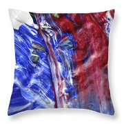 Wet Paint 61 Throw Pillow