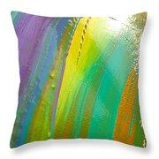 Wet Paint 7 Throw Pillow