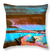 Wet Paint 73 Throw Pillow