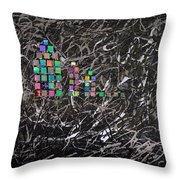 Wet Reflections Throw Pillow