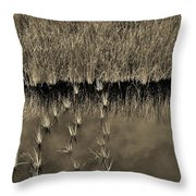 Wetland Sky Throw Pillow