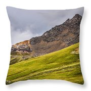 Wetterhorn Peak Throw Pillow