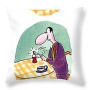 Whack! Throw Pillow