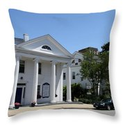 Whale Oil Row - New London Throw Pillow