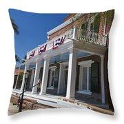 Whaley House Old Town San Diego Throw Pillow