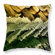 Wharf Reflections Throw Pillow