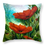 What A Beautiful Morning Throw Pillow