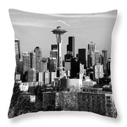 What A City Throw Pillow