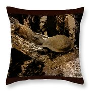 What A Crock - Featured In Wildlife Group Throw Pillow