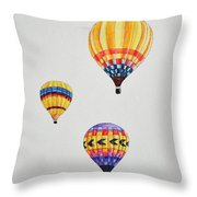 What A Feeling Throw Pillow