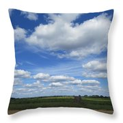 What A Frontporch View Throw Pillow