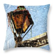 What A Party Sketch Throw Pillow