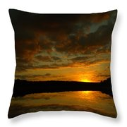 What A Sunset Throw Pillow