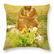 What Am I Doing Here? Throw Pillow